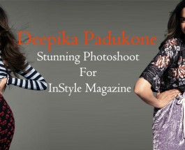 Deepika Padukone Stunning Photoshoot For InStyle Magazine