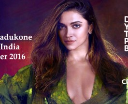 Deepika Padukone Vogue India Photoshoot November 2016