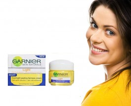 Garnier Light Overnight Peeling Fairness Cream Review