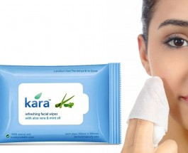 Kara Refreshing Facial Wipes with Mint Oil And Aloe Vera Review