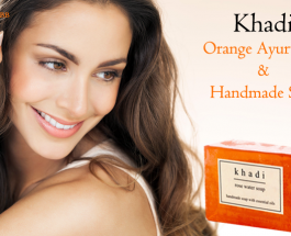 Khadi Orange Ayurvedic And Handmade Soap Review