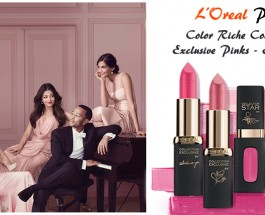 L'Oreal Paris Color Riche Collection Exclusive Pinks – Eva's Pink Review