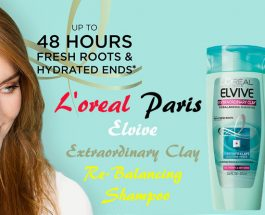 L'Oreal Paris Elvive Extraordinary Clay Re-balancing Shampoo Review