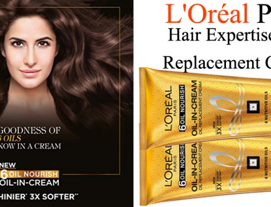 L'Oreal Paris Hair Expertise Oil Replacement Cream Review