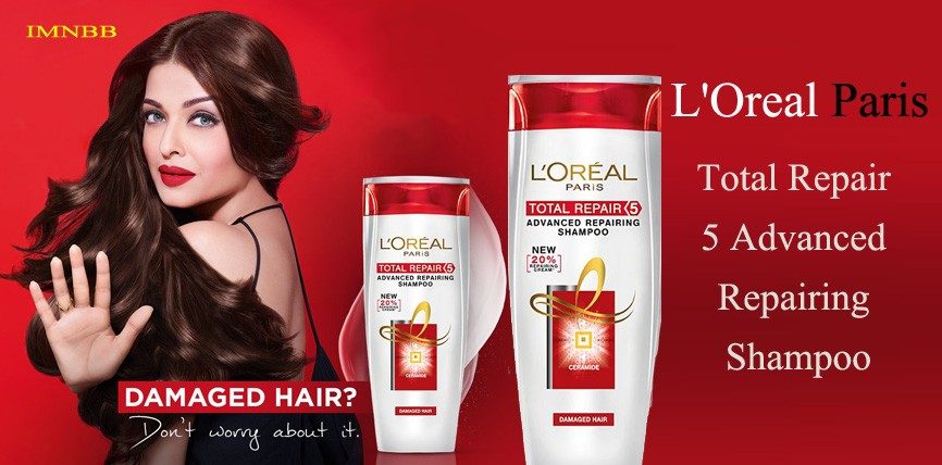 L'Oreal Paris Total Repair 5 Advanced Repairing Shampoo Review