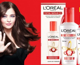 L'Oreal Paris Total Repair 5 Instant Smooting And Nourishing Oil Serum Review