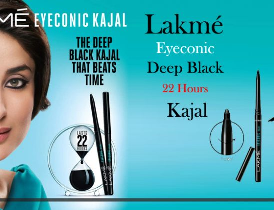 Lakme Eyeconic Kajal Deep Black 22 Hours Review