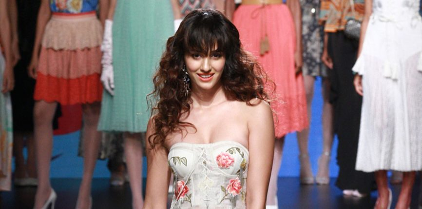 Disha Patani At Lakme Fashion Week August 2017
