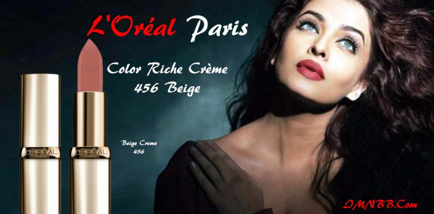 L'Oréal Paris Color Riche Beige Crème 456 Review