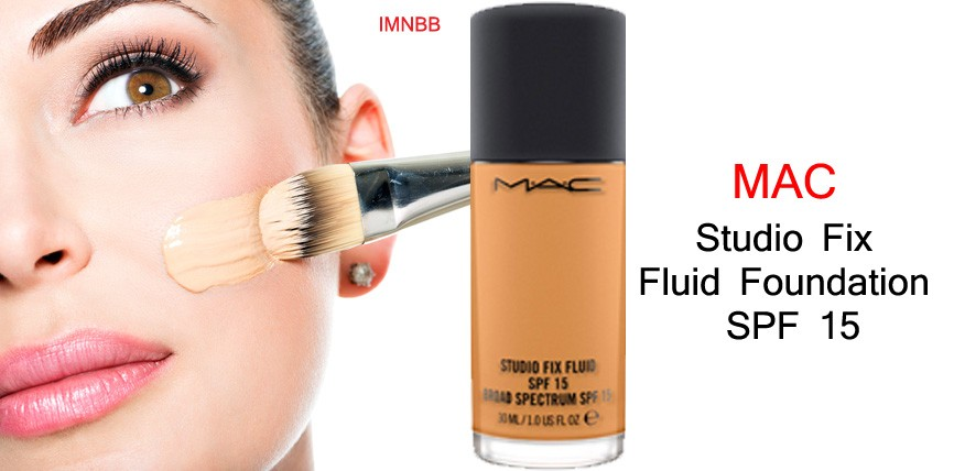 MAC Studio Fix Fluid Foundation SPF 15 NC30 Review