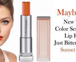 Maybelline New York Color Sensational Lip Flush Just Bitten Lipstick – Sunset Sorbet Review