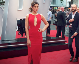 Nargis Fakhri Making Heads Turn in Red @ The Premiere Of Spy in London