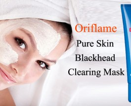 Oriflame Pure Skin Blackhead Clearing Mask Review
