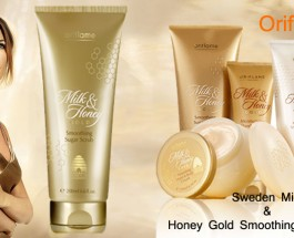 Oriflame Sweden Milk And Honey Gold Smoothing Sugar Scrub Review