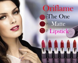 Oriflame The One Matte Lipstick Review