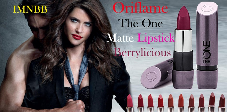 Oriflame The One Matte Lipstick – Berrylicious Review