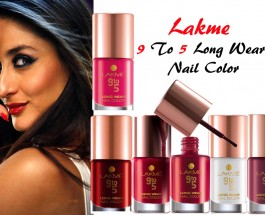 Lakme Nine To Five Long Wear Nail Color 9 ML Review