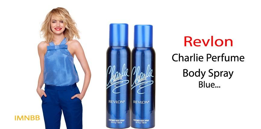 Revlon Charlie Perfume Body Spray Blue Review