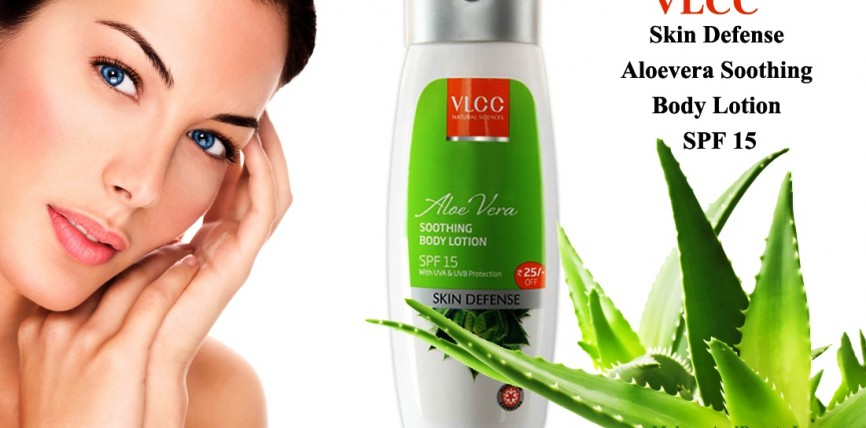 VLCC Skin Defence Aloevera Soothing Body Lotion SPF 15 Review